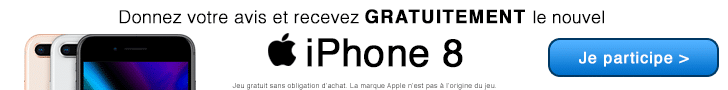 gagner iphone 8