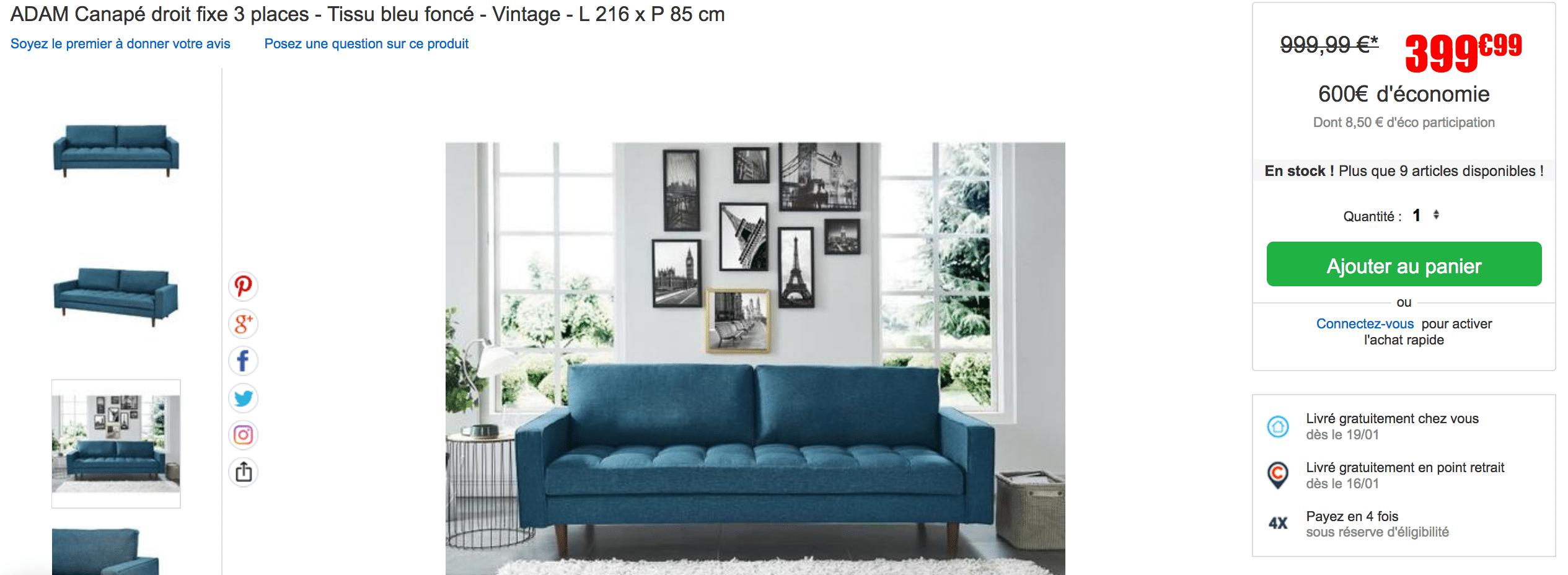 soldes cdiscount quelles sont les meilleures affaires. Black Bedroom Furniture Sets. Home Design Ideas