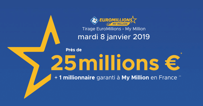 résultat euromillions mardi 8 janvier