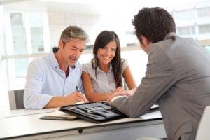 En ouvrant un contrat d'assurance vie