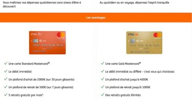 ing offre bancaire