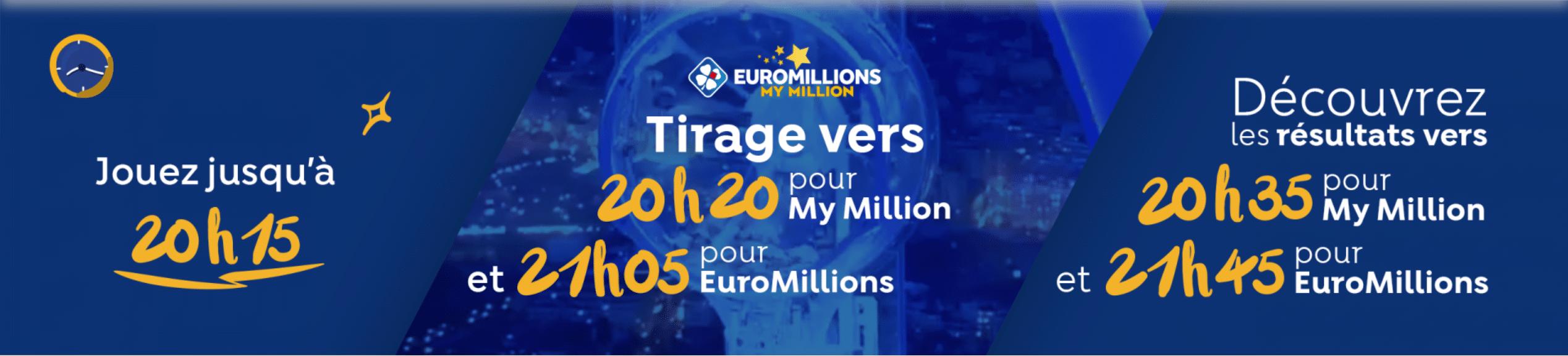 horaire eurommillions