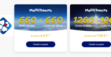 Comment jouer aux Packs MultiChances (Euromillions)