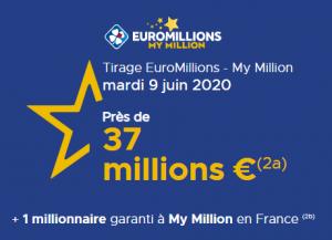 EuroMillions mardi 9 juin 2020 jusqu'à quelle heure peut-on jouer