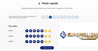 Euromillions Augmenter vos chances avec Flash rapide