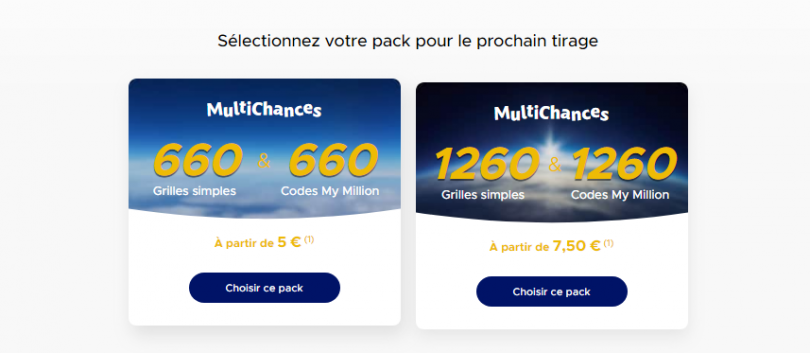 Packs MultiChances