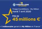 Tirage Euromillions : La FDJ lance un nouveau jackpot (45 millions d'euros)