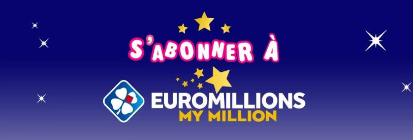 Profitez de l'abonnement Euromillions - My Million ?