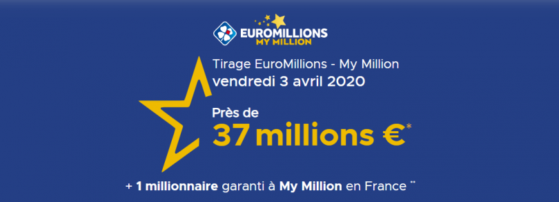 Euromillions 03 avril 2020