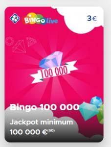 Bingo live fdj astuce