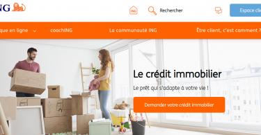 Crédit immobilier ING : se financer à bas coût et avec flexibilité