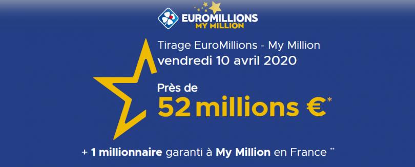 Euromillions : la FDJ augmente la cagnotte à 52 millions d'euros