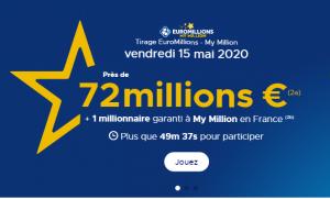 Suivez le résultat Euromillions du vendredi 15 mai 2020 (En ligne)