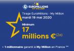 Euromillions du 19 mai 2020 (Cagnotte 17 millions euros)