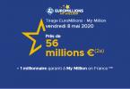 Euromillions suivez le tirage de ce vendredi 8 mai 2020 (Lot de 56 000 000 €)