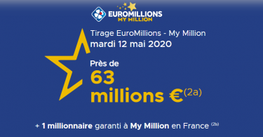 Résultat Euromillions mardi 12 mai 2020
