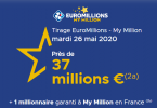 Tirage Euromillions mardi 26 mai 2020