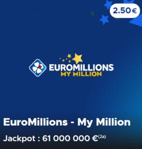 Les règles du jeu Euromillions et My Million