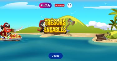 Trésors Ensablés - Jeu Illiko FDJ