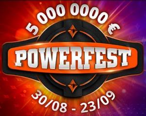 Bonus dépôt Powerfest sur PMU Poker jusqu'à 175 € de bonus