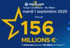 Astuces pour jouer à l'Euromillions du mardi 1er Septembre 2020 en utilisant les Maths