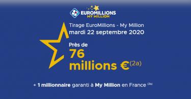 Euromillions du mardi 22 Septembre 2020 Comment choisir les bons numéros