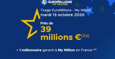 Euromillions - Mardi 13 octobre 2020
