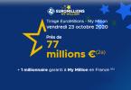 Informations sur les plus grands gagnants de l'Euromillions + tirage du Vendredi 23 Octobre 2020