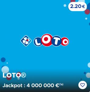 Lundi 12 octobre 2020 (4 000 000 €)