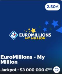 euromillion - my million