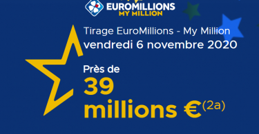 EuroMillions, préparation du tirage du vendredi 06 novembre 2020