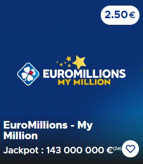 Les chances de gagner à l'Euromillions
