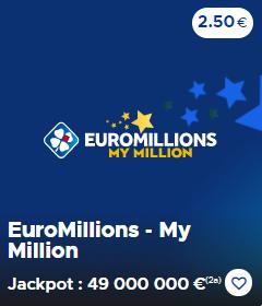 Euromillions - My Millon