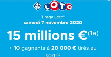 Tirage Loto du samedi 07 novembre 2020 : comment jouer en ligne au Loto ?