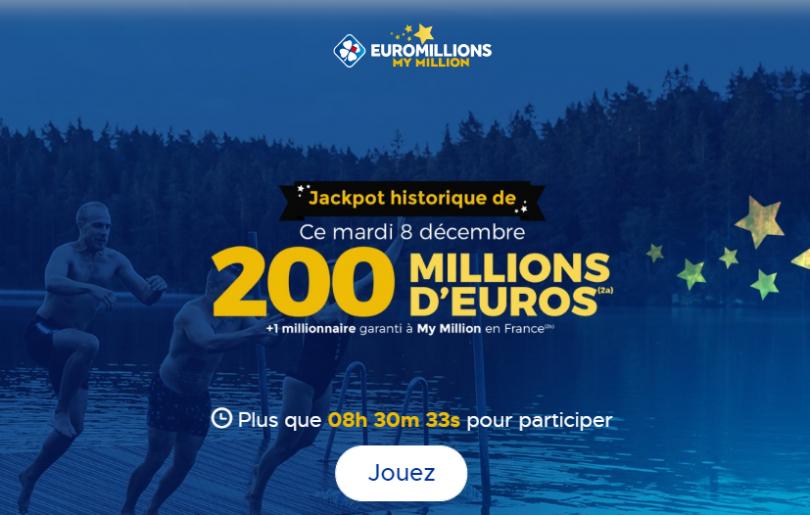 Euromillions 08 decembre 2020