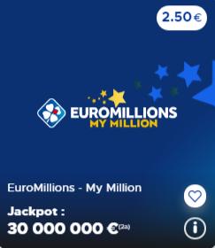 Euromillions 18-12-2020