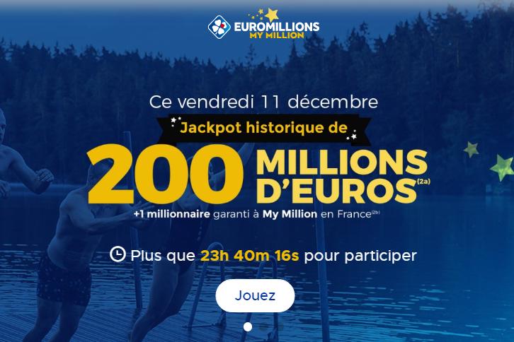 Euromillions, tirage du vendredi 11 Décembre 2020 & astuces pour gagner avec un calcul