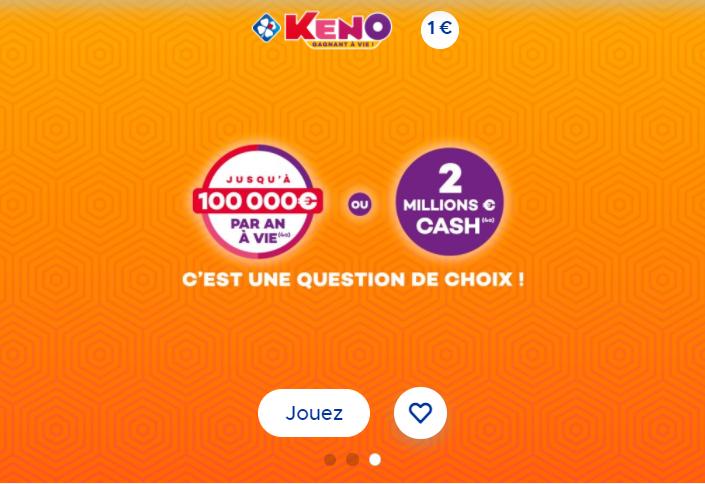 Keno (FDJ) information