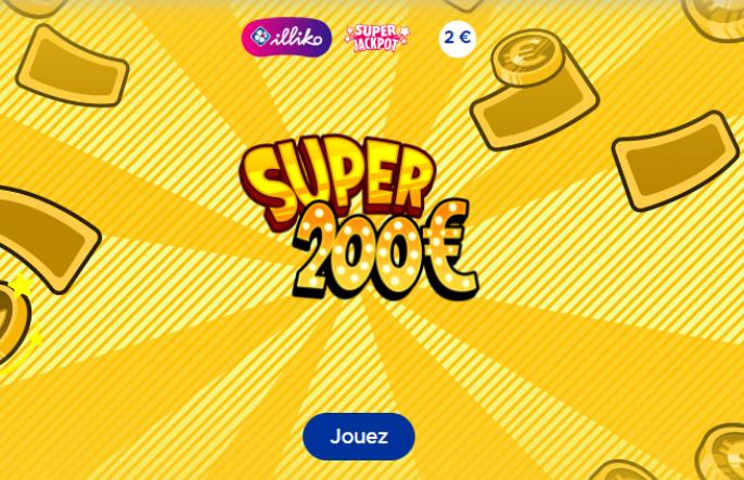 Super 200 - Jeu FDJ