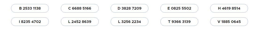 codes gagnants 02 janvier 2021