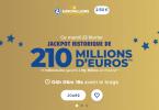 Euromillions FDJ du mardi 23 février 2021 : présentation du tirage (jackpot de 210 millions d'euros)