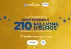 Euromillions FDJ du vendredi 26 février 2021 : le jackpot de 210 millions d'euros